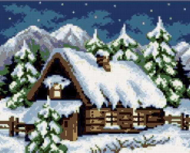 Зимний домик, зимний домик,