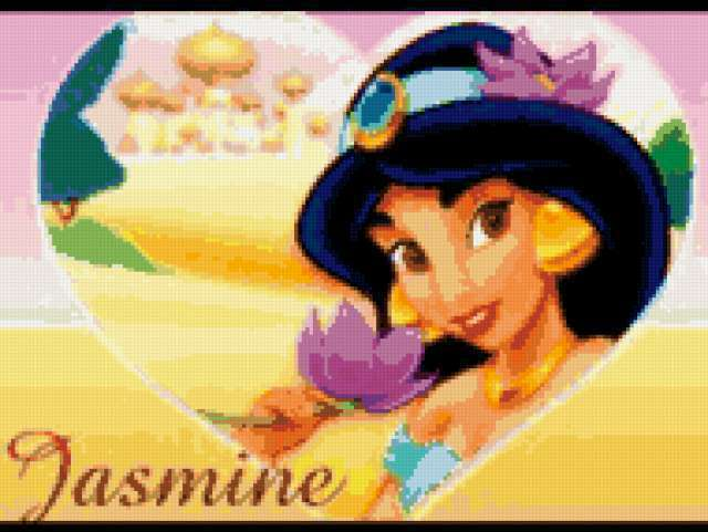Princess jasmine, multfilmy