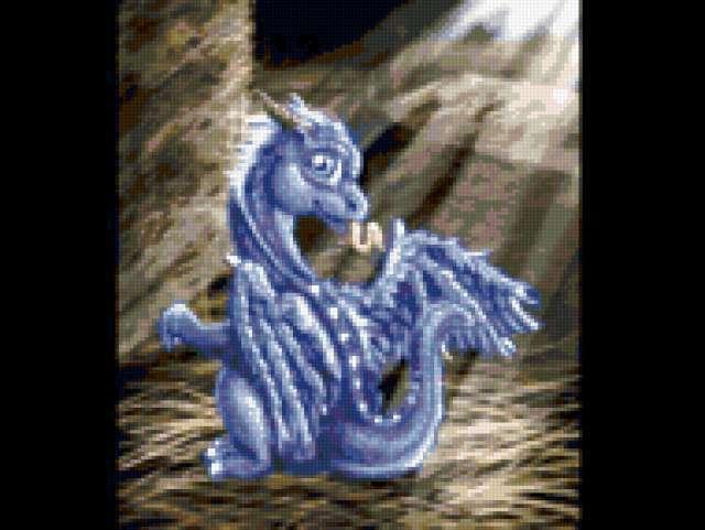 Маленький дракон, фентези
