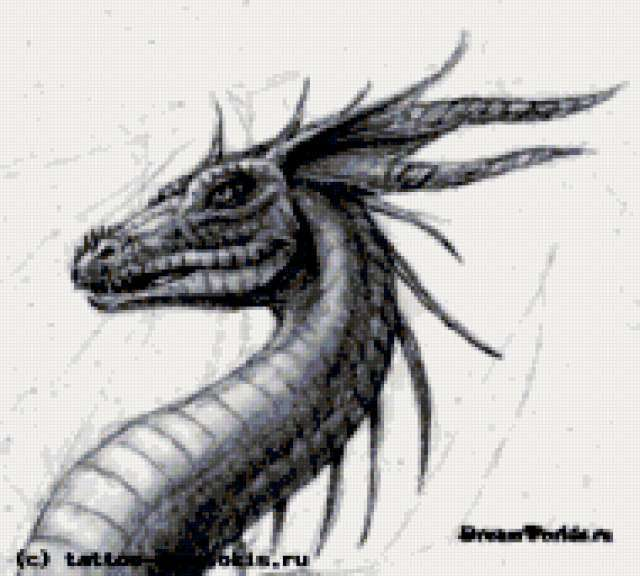 рисунок, рисунок, дракон