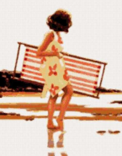 Джек Веттриано, на пляж,