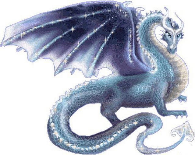 Синий дракон, символ 2012