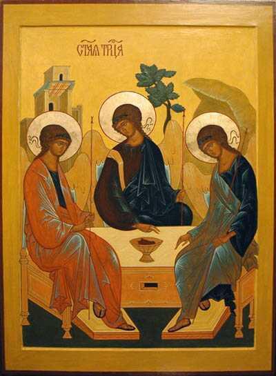 Троица Ветхозаветная, иконы