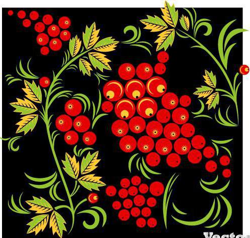 Хохломская роспись, оригинал