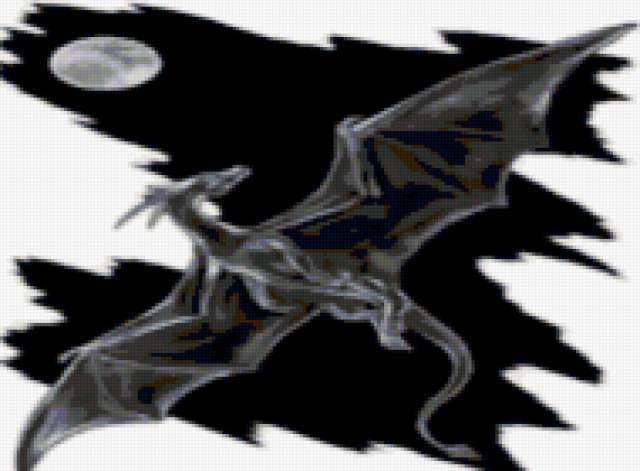 дракон, монохром, черно-белое,