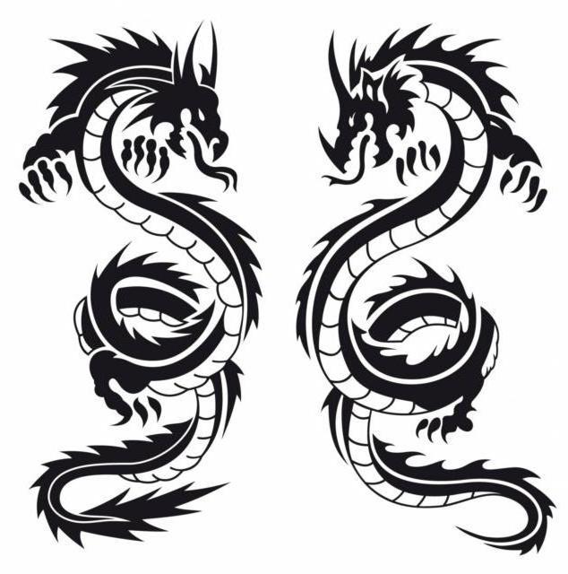 Пара драконов,