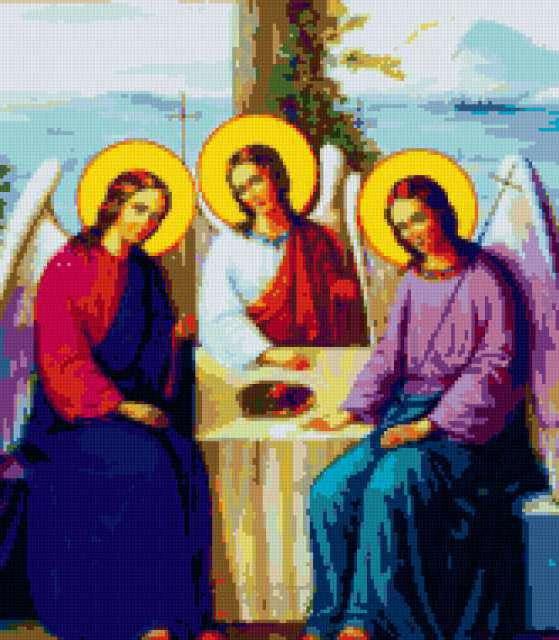Пресвятая троица, икона