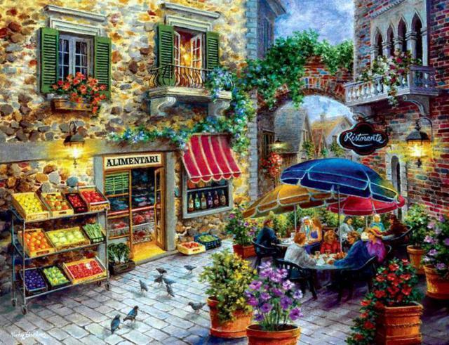 Уютное кафе в Париже, оригинал