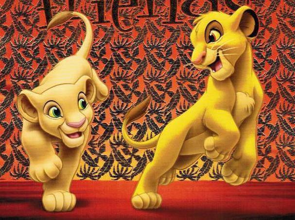 Король лев, детям, мультфильм,