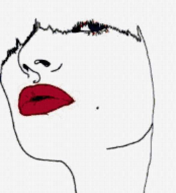 Алые губы, предпросмотр