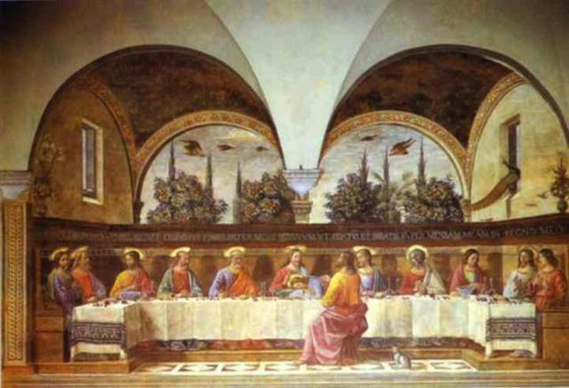 Тайная вечеря, художники