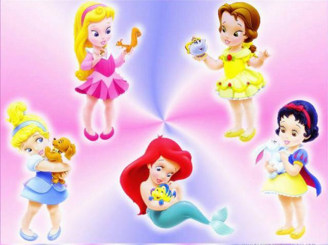 Маленькие принцессы Диснея