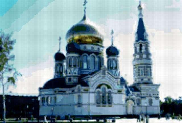 Успенский собор Омск
