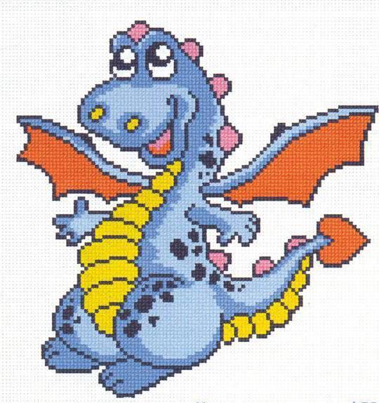 Схема вышивки год дракона фото 437