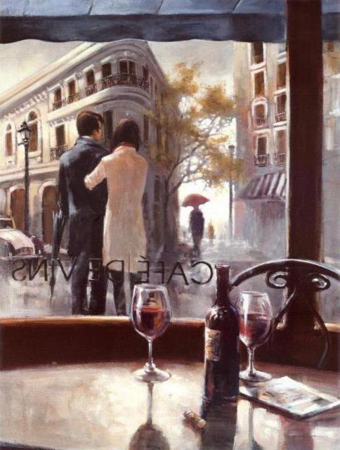 Парижское кафе, оригинал