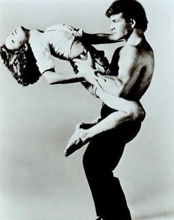 грязные танцы, черно-белая