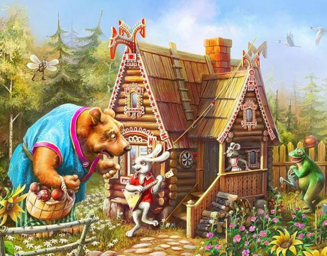 Сказочный домик.