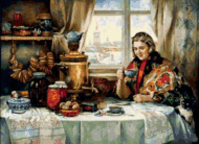 Русское чаепитие, предпросмотр