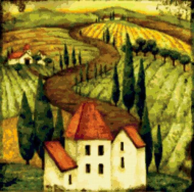Подушка Тоскана 1
