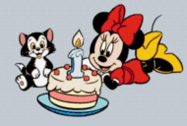 С днем рождения,микки маус