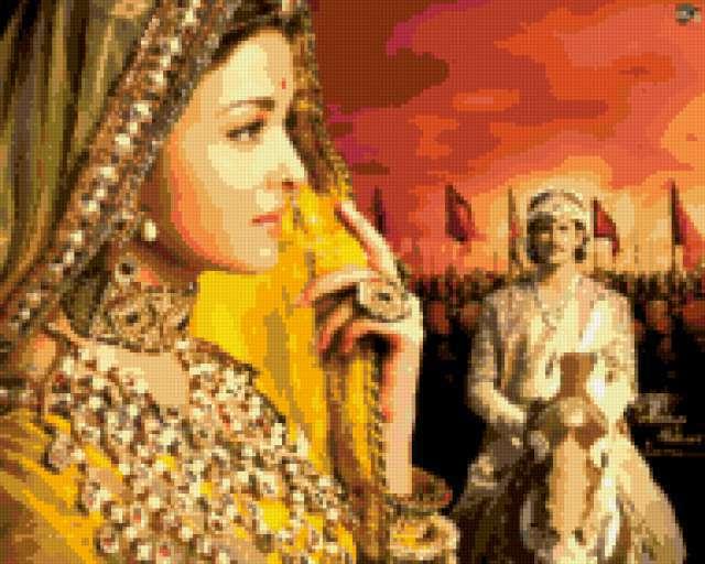 Индия, индия, девушка, восток,