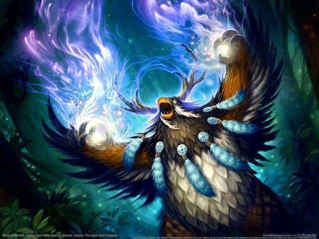 Сова-Друид Wow, игры wow сова