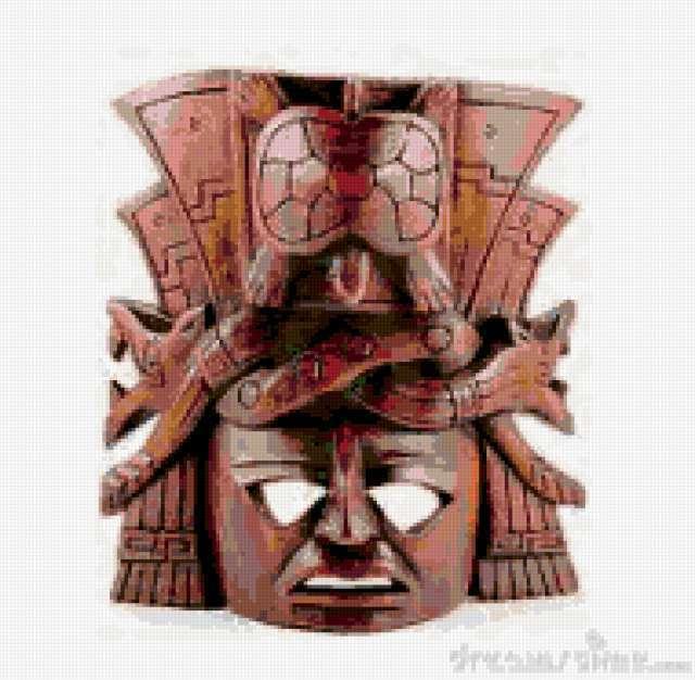 маска Майя, предпросмотр