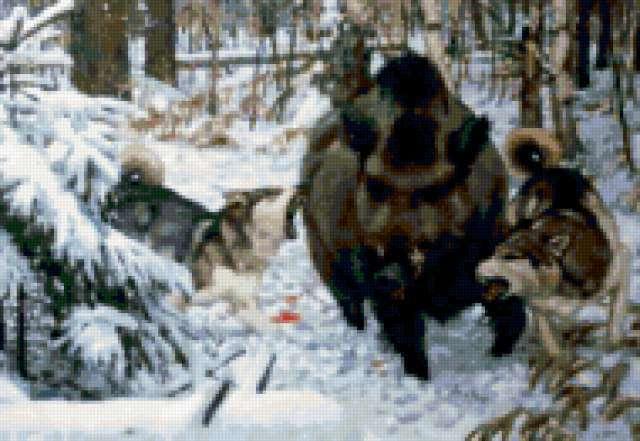 Охота на кабана, предпросмотр