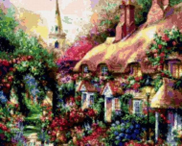 Сказочные домики, предпросмотр