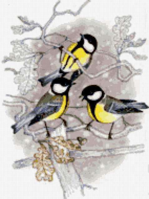 Птички-синички, предпросмотр