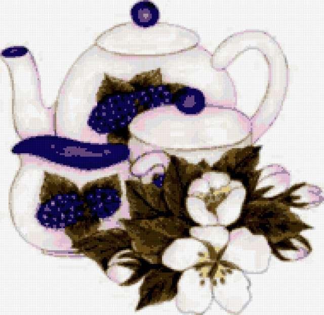 Чайный сервиз, предпросмотр