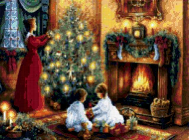 Украшение Рождественской елки