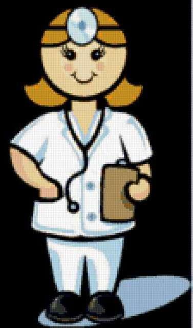 Женщина-врач, предпросмотр