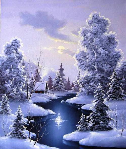 Зимушка, зима, пейзаж