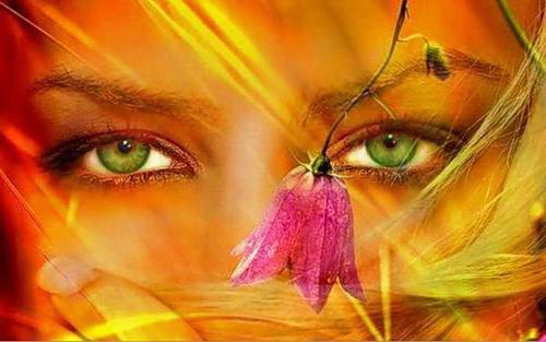 Женские глаза,