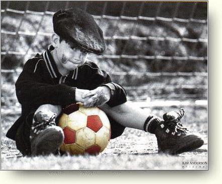 Футбол, дети, открытка, детки,