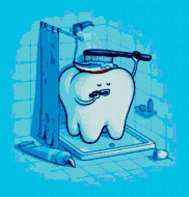 Юмор, юмор прикол зуб гигиена
