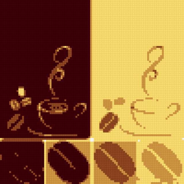 Кофейные чашки, предпросмотр