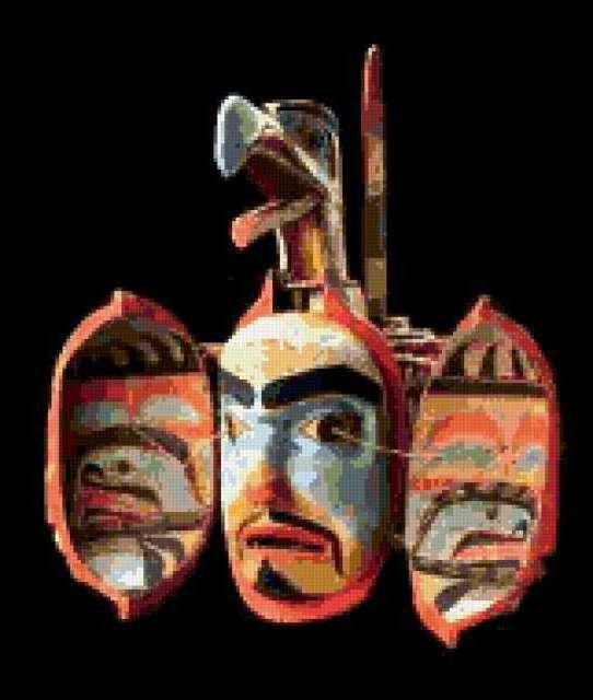 Маски майя, предпросмотр