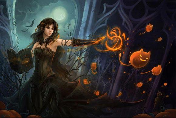 Волшебница, фэнтези