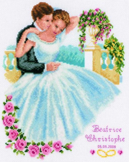 Свадебная вышивка, оригинал
