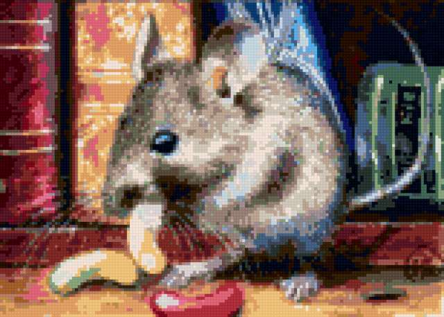 Мышка и конфеты, предпросмотр