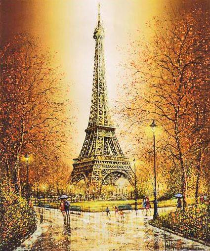 Схема вышивки «Париж осенний» - Схемы ...: www.xrest.ru/overview/Париж осенний-980981
