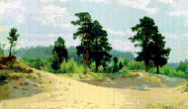 Картины Шишкина. Опушка леса,