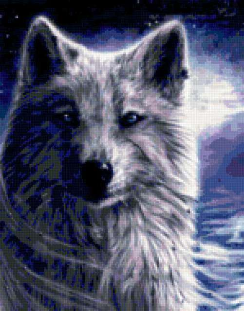 Волчица, волк, волчица