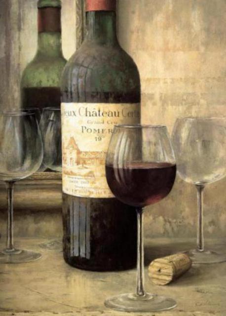 Бутылка вина, оригинал