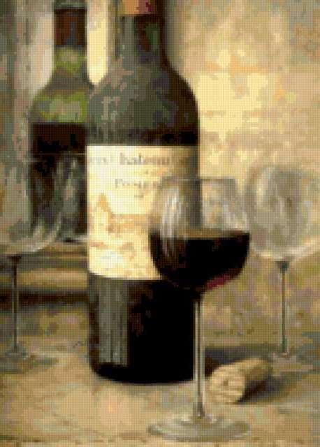 Бутылка вина, предпросмотр