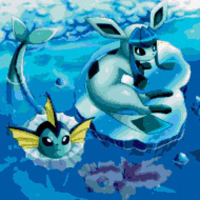 Водные покемоны, предпросмотр