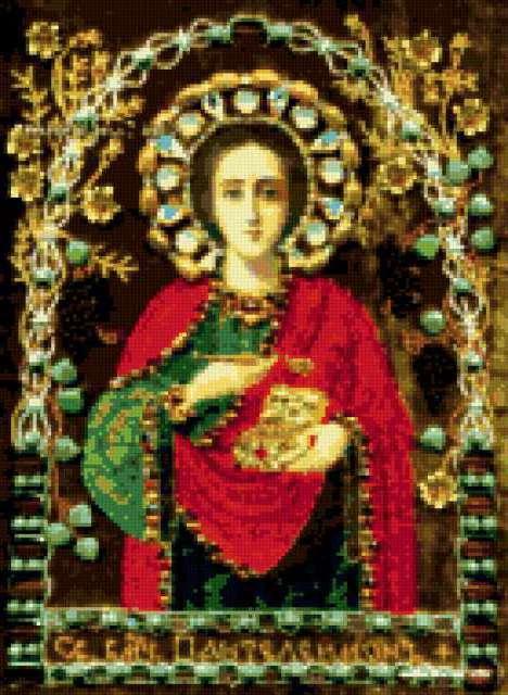 Святой Пантелеймон, икона