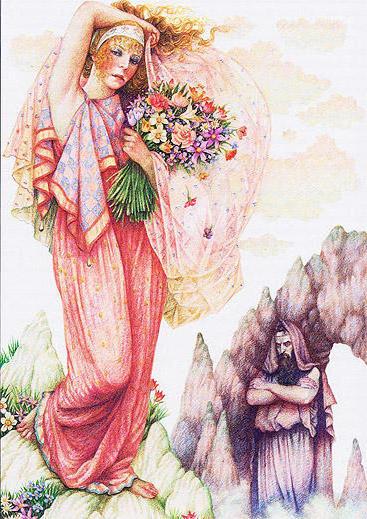 Персефона-богиня царства